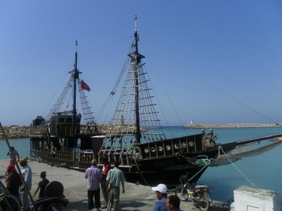 Dar Khayam Hotel : pirate ship