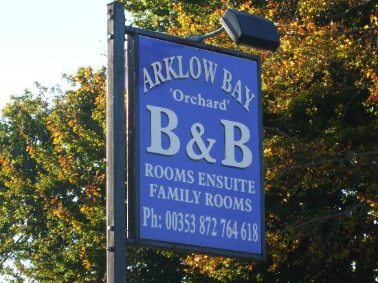 Arklow Bay Orchard B&B: OUR SIGN