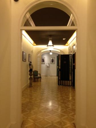 one of the hallways in Casa Gracia
