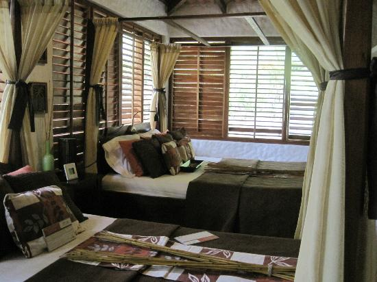 Corcovado National Park, Costa Rica: Our bedroom in a Junior Suite