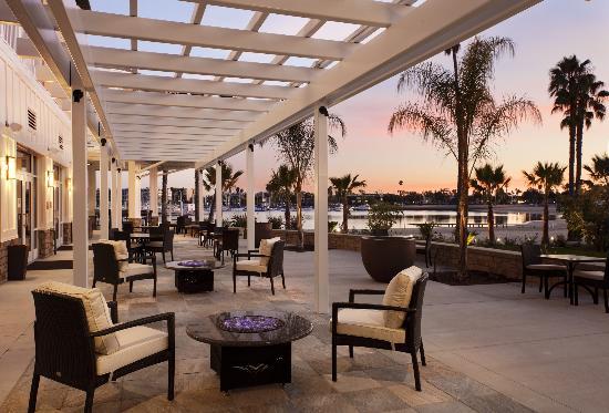 Beachside Restaurant & Bar : Beachside Restaurant and Bar, Marina del Rey, CA
