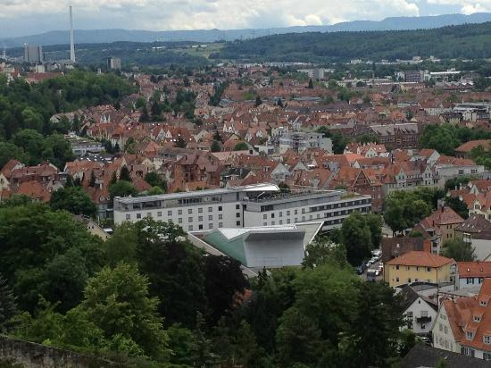 Best Western Premier Hotel Park Consul Stuttgart/Esslingen: View of hotel from the Burg