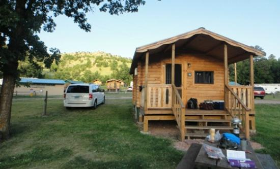 Spokane Creek Cabins & Campground: Cabin 14