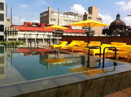 Hotel Downtown Mexico: Pool Deck