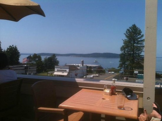 Topside Bar and Grill: View from the roof top.
