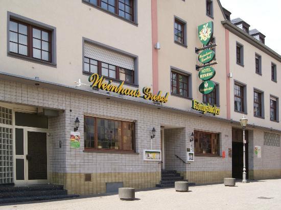 Hotel-Restaurant Weinhaus Grebel : Front of Hotel