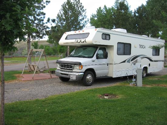 Billings KOA: NIcely spaced campsites