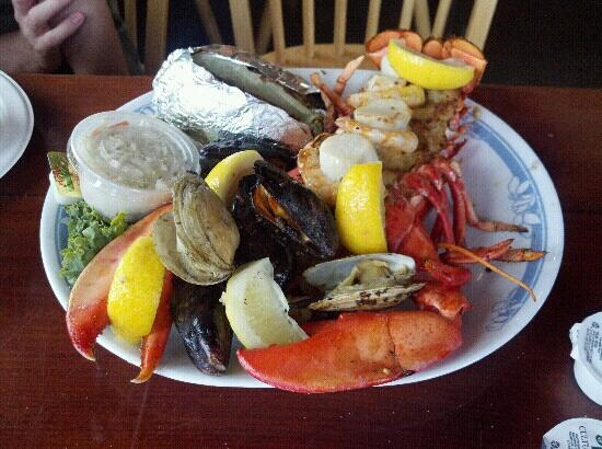 Little Jacks's Seafood Restaurant and Lobster Pool: Stuffed Lobster dinner $19