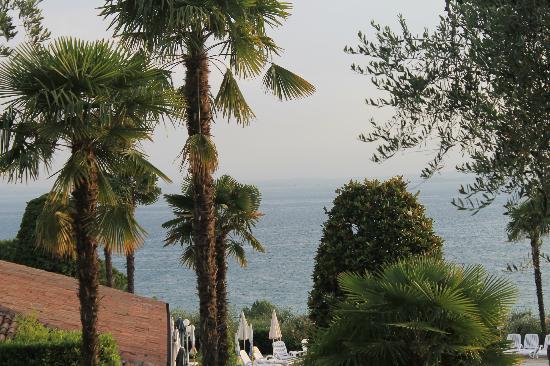 Appartamenti Arca & Ca' Mure: Udsigt over Gardasøen