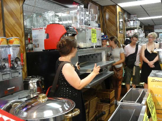 Inside Bari Restaurant Pizzaria Equipment Store Picture Of Scott 39 S Pizza Tours New York