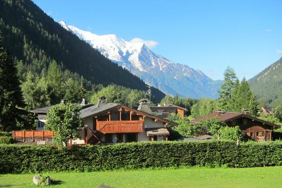 Hôtel Les Grands Montets : View from room