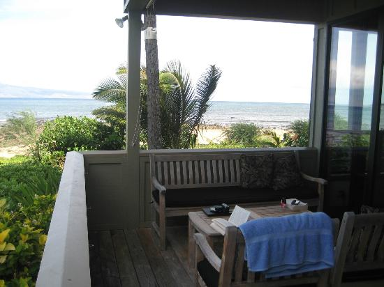 Kahana Village: View from deck in other direction