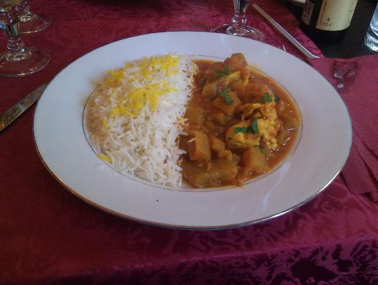 Kaboul : lamb with tomato