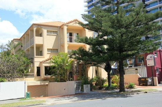 Gold Coast International Backpacker Resort: Great location