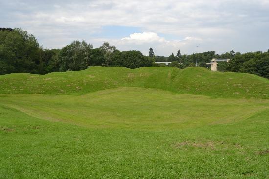 Cirencester Amphitheatre: Cirencester Roman amphitheatre