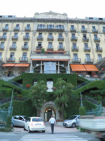 Grand Hotel Tremezzo: main entrance