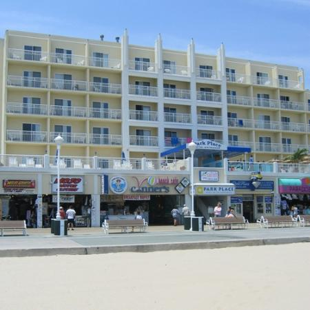 Park Place Hotel: Boardwalk View-Before Renovation
