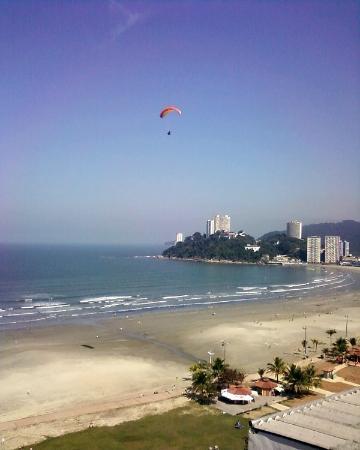 Sao Vicente, SP: Vista da praia de Itararé