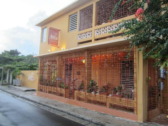 Casa de Amistad: front of hotel