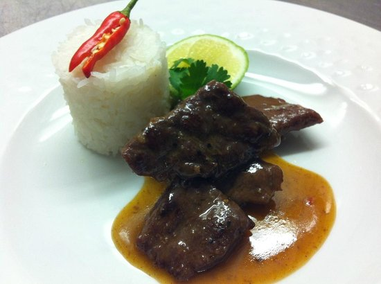 Farrango Thai Fusion Art Gallery Restaurant: Main course