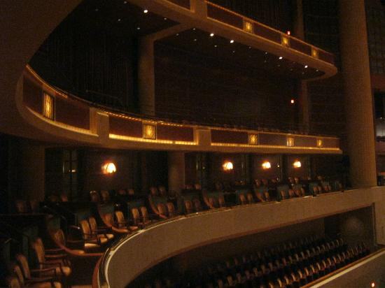 Morton H. Meyerson Symphony Center: impressive interior
