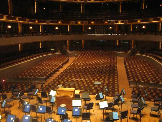 Morton H. Meyerson Symphony Center: view from the orchestra