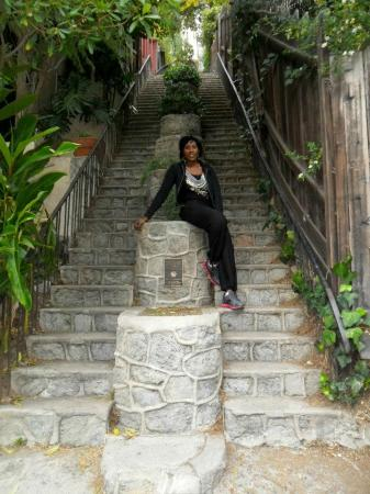 LA Active Adventure Tours: Some of the beautiful steps on the tours