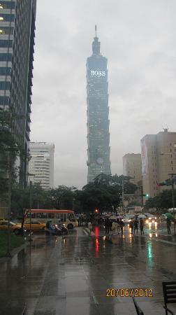 Foto de taipei 101 xinyi district tower stabilising ball for Taipei tower ball