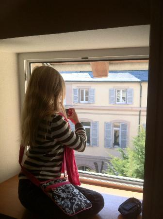 Ibis Styles Colmar Centre: Looking out the window