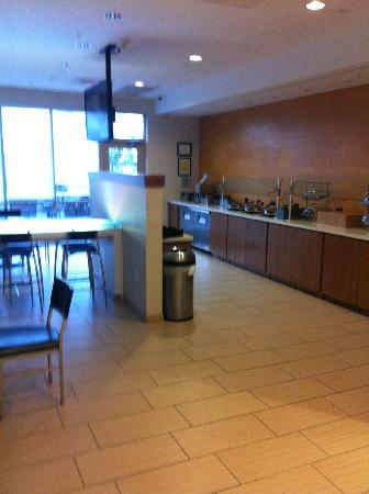 SpringHill Suites Lafayette South at River Ranch : Breakfast area