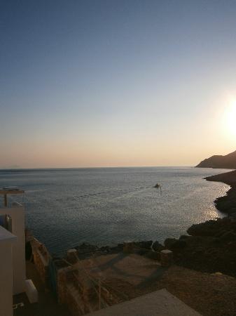 Delfini Restaurant : sunset from delfini resstaurant