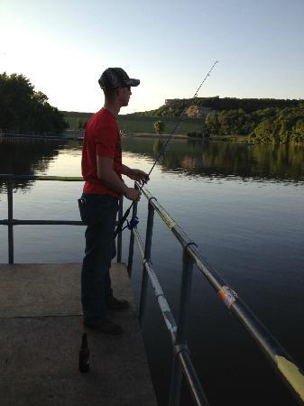 Grand River Resort: Fishing