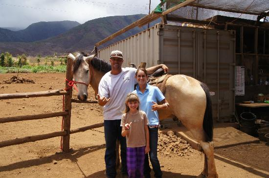 Lahaina Stables: Daughter with the hosts