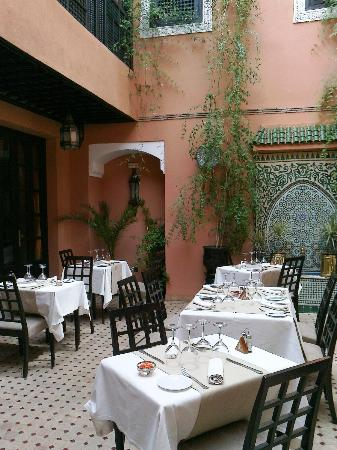 Les Borjs de la Kasbah: Restaurant open to the stars