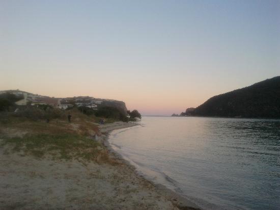 Knysna, Sydafrika: Sundown on Bollard Bay