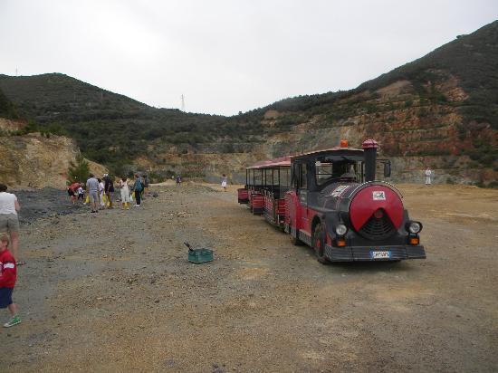 Parco Minerario dell'Isola d'Elba: zona di scavo