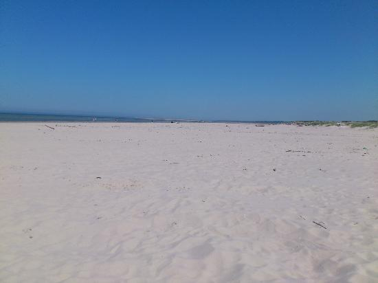 nairn beach in the morning