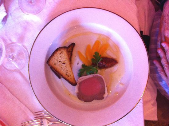 Wild Geese Restaurant: Chicken liver terrine.