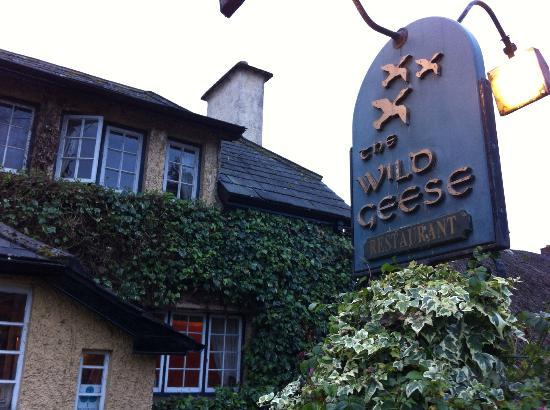 Wild Geese Restaurant: Restaurant sign.