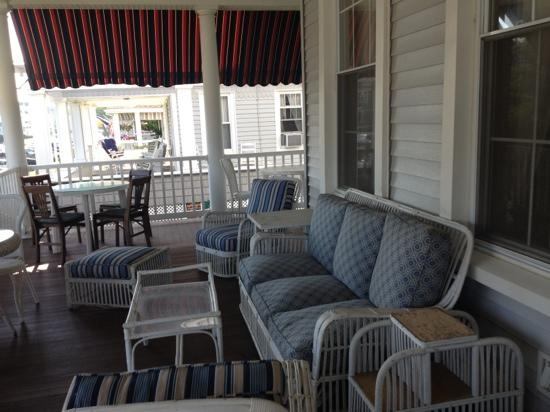Atlantic View Inn: front porch
