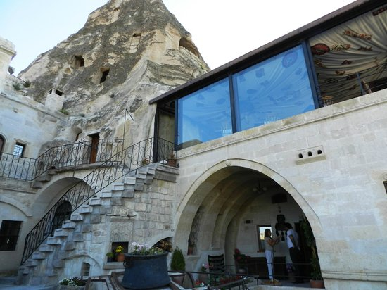 Mithra Cave Hotel : comedor