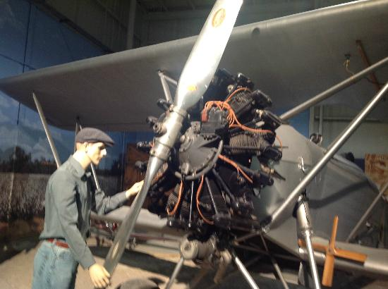 Southern Museum of Flight: Old Radial Engine