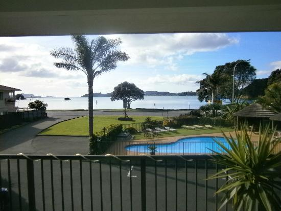 view from our motel unit Anchorage Motel Paihia