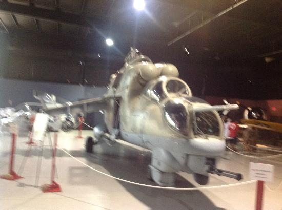 Southern Museum of Flight: Hind-B Helicopter, Exibit to open soon.