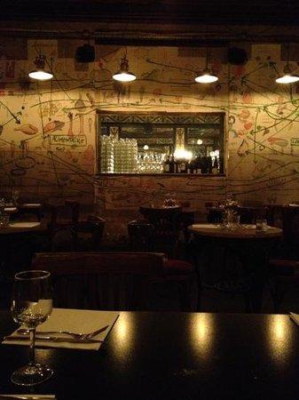 Delaville Cafe: superbe deco!
