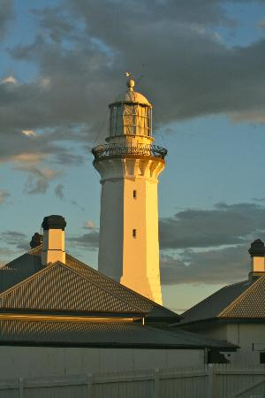 Green Cape Lightstation Tours: Greencape Lighthouse at sunset