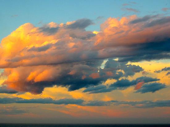 Green Cape Lightstation Tours : Sunset over Greencape