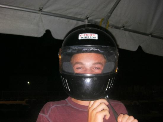 Cayman Karting : Helmets Are Required!