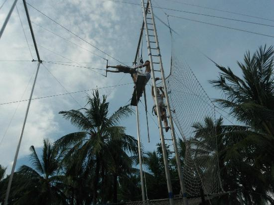 Club Med Bali: Me on the Trapeze