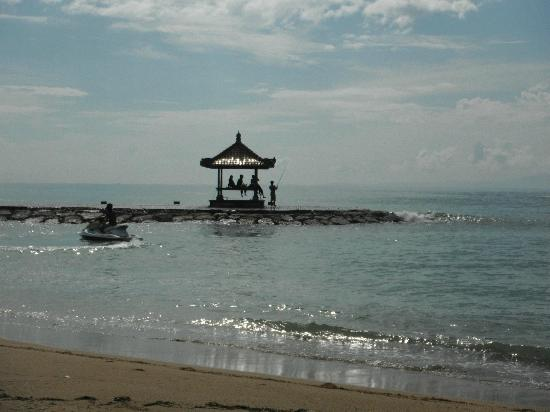 Club Med Bali: The Fishing spots off the beach